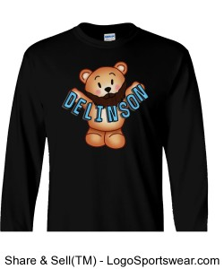 Delinson Long Sleeve Adult T-Shirt Design Zoom